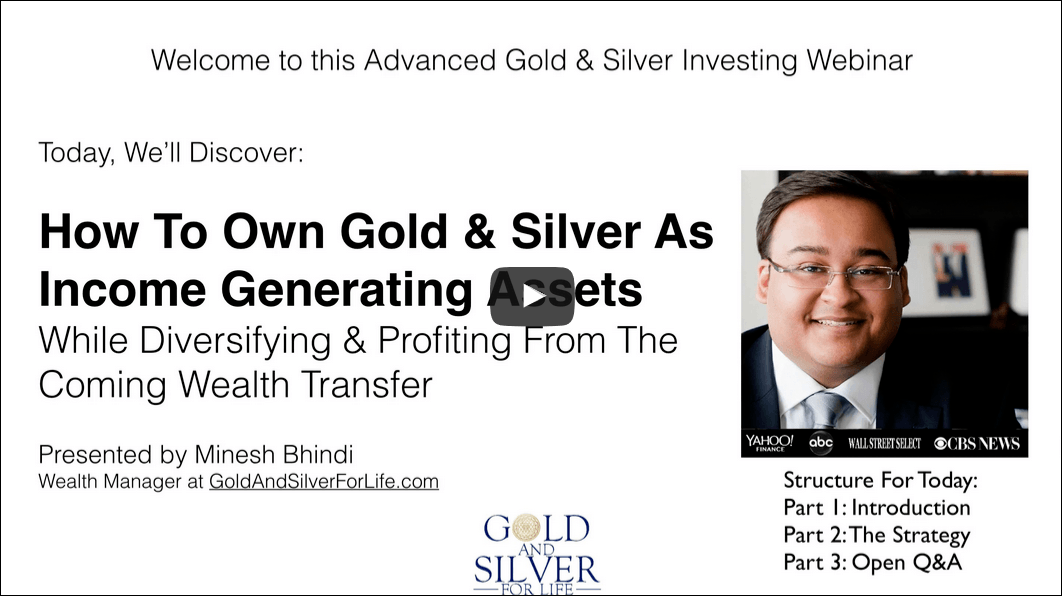 Gold And Silver For Life Review webinar